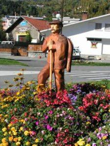 Sculpture bois - Personnage
