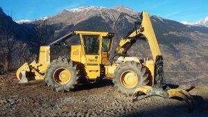 Tigercat pour travaux forestiers